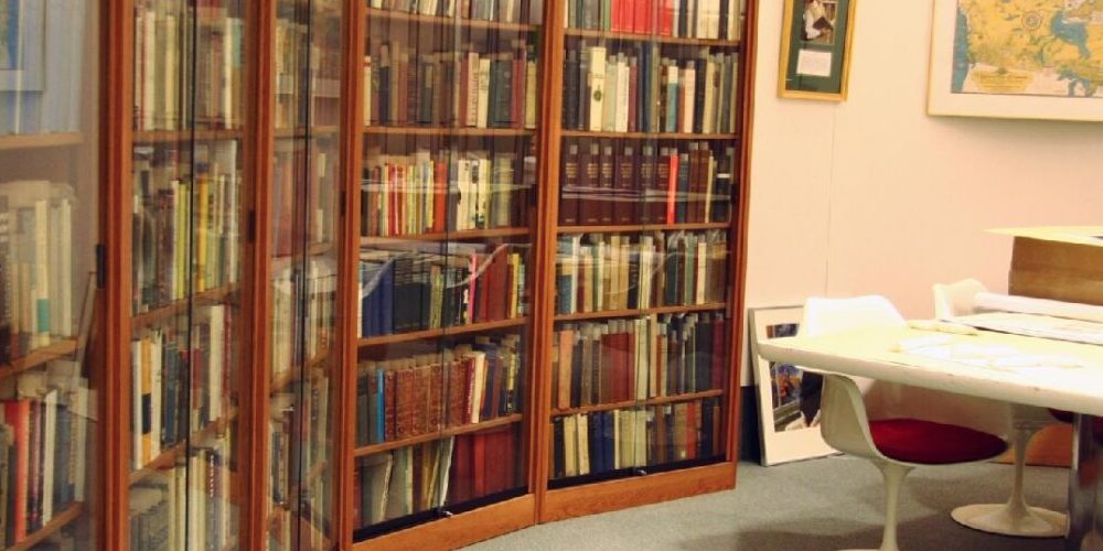 Photo of the Archives and Special Collections reading area