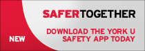 Download the York U safety app today