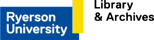 Ryerson University Library and Archives logo