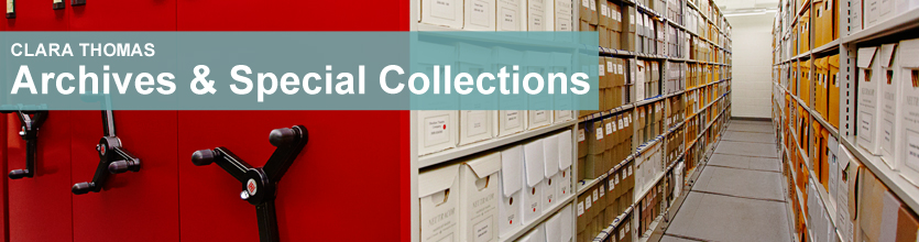 Clara Thomas Archives and Special Collections
