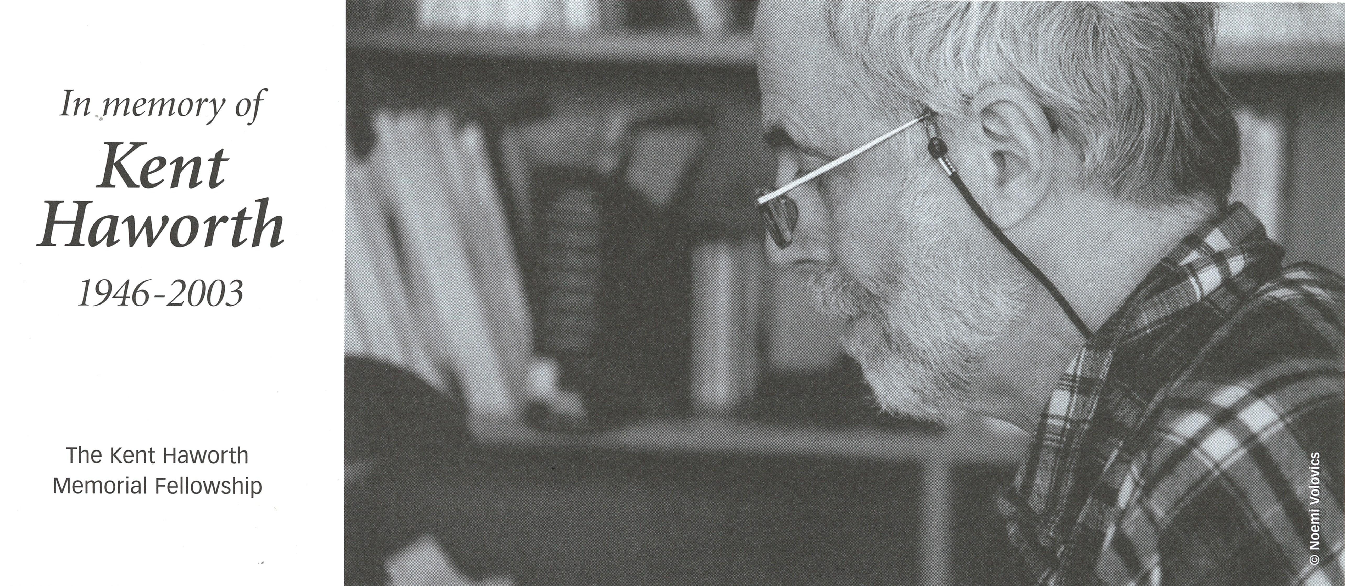 Image of York University Archivist Kent Haworth