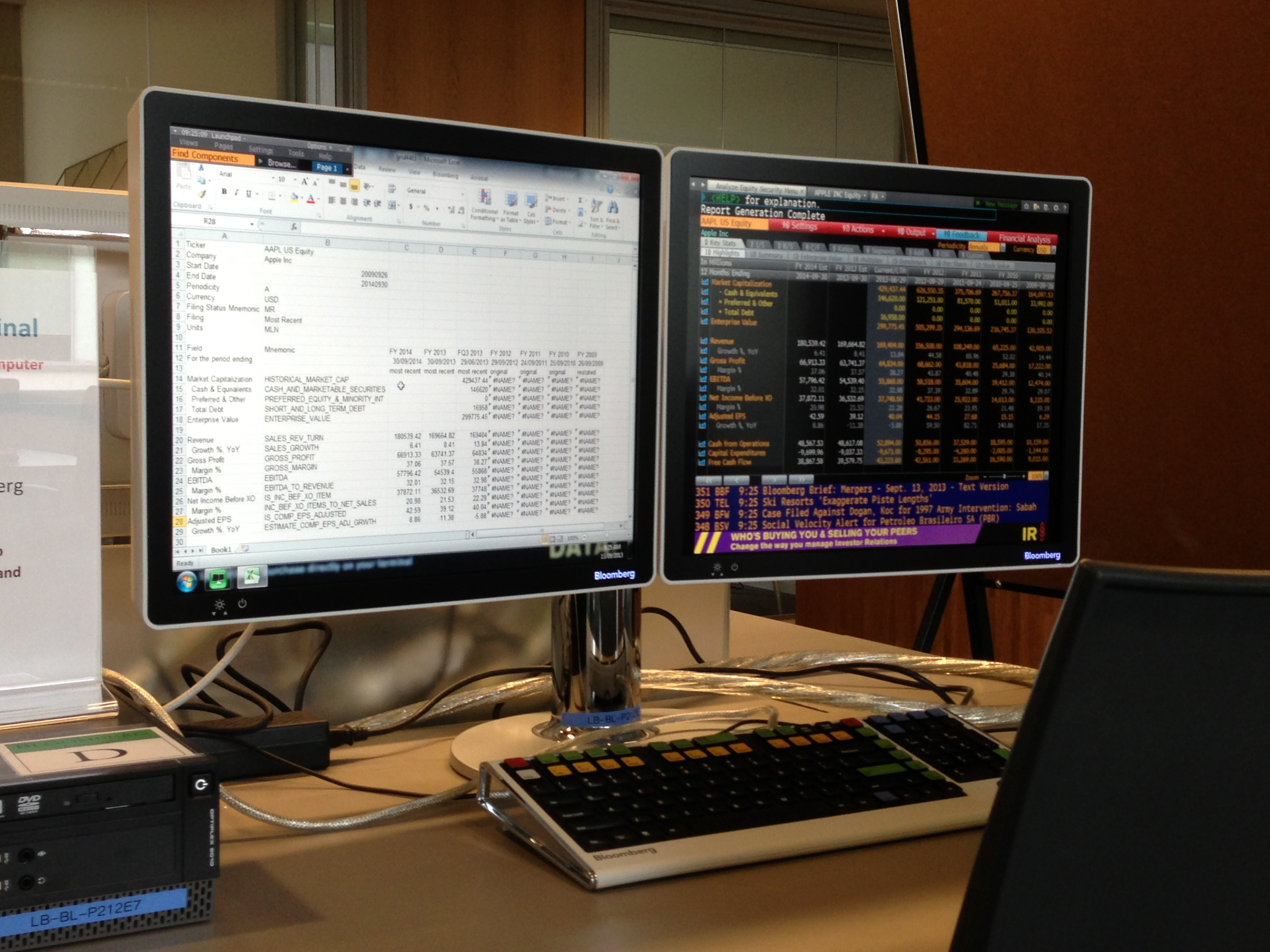 Bloomberg Quadrupled No Less Than Four Bloomberg Terminals Are Now