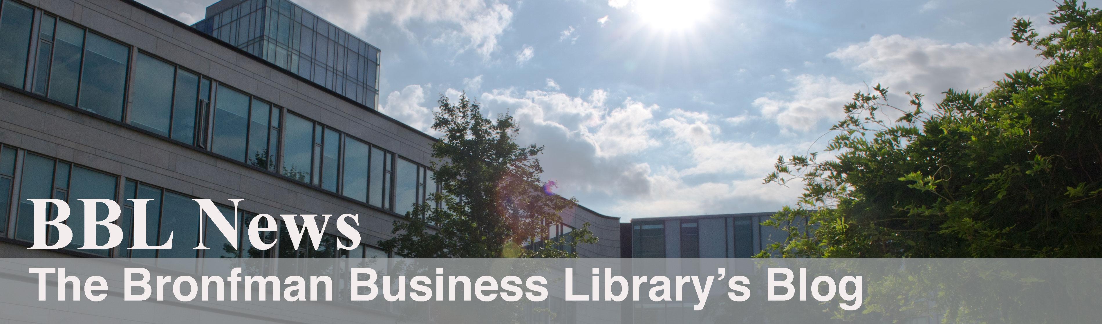 Bronfman Library Blog Banner