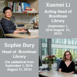 Photo of Xuemei Li and Sophie Bury