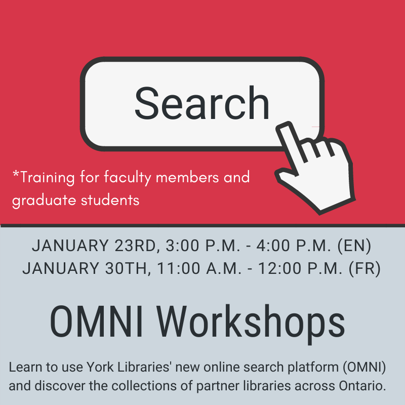 OMNI Workshops