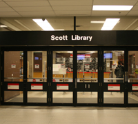 Picture of Front of Scott Library