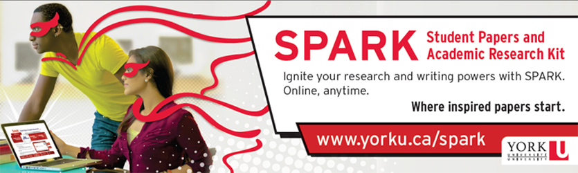 SPARK Promo Banner with boy and girl