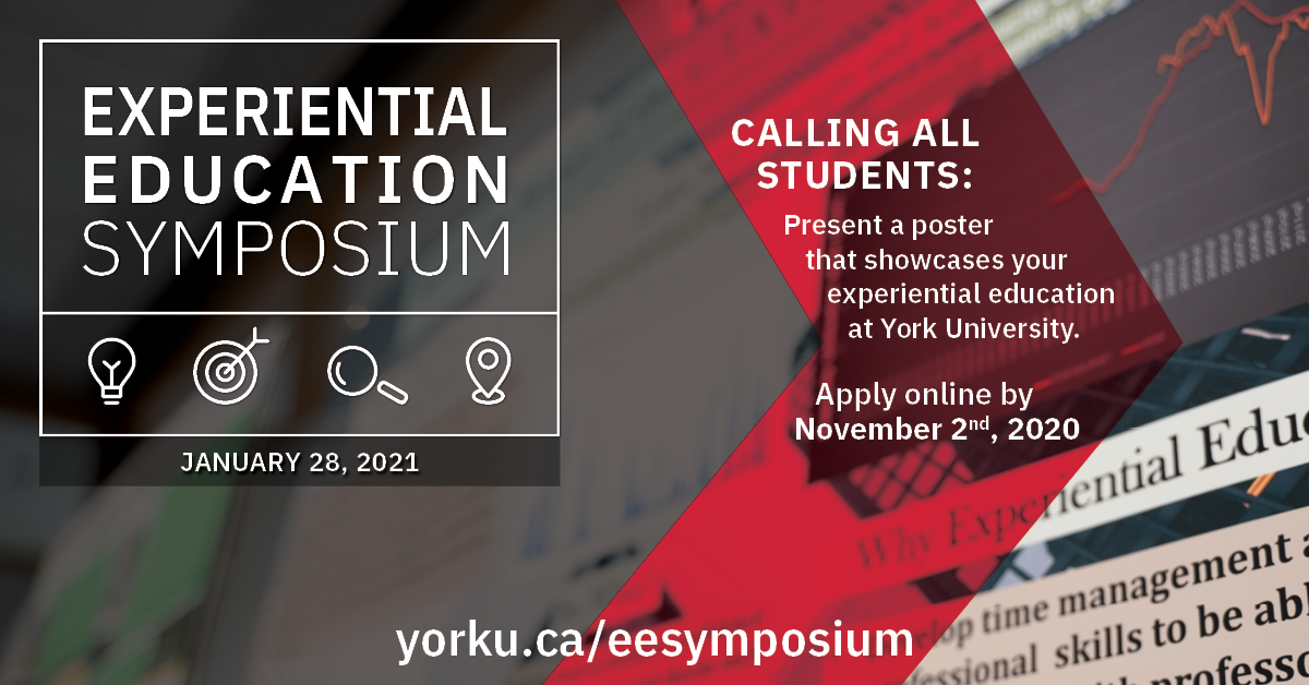 EE Symposium 2021 Call for Posters