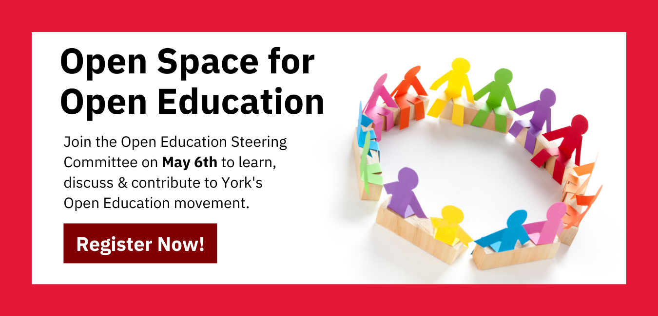 Open Space for Open Education Event Banner